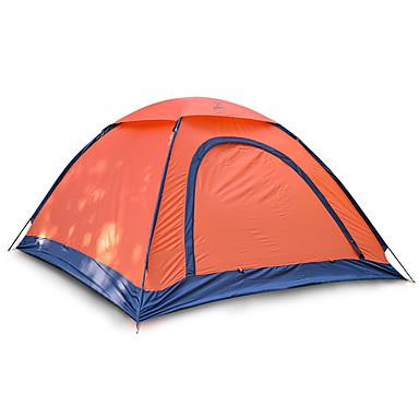 JUNGLEBOA® 2 الأشخاص خيمة الكاميرا منفرد خيمة التخييم غرفة واحدة طية خيمة مكتشف الرطوبة مقاوم للماء المحمول إلى المشي لمسافات طويلة تخييم