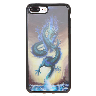 إلى نموذج غطاء غطاء خلفي غطاء حيوان ناعم TPU إلى Apple فون 7 زائد فون 7 iPhone 6s Plus iPhone 6 Plus iPhone 6s أيفون 6
