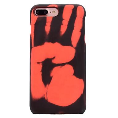 Kılıf Na Apple iPhone X iPhone 8 Wzór Czarne etui Solid Color Twarde PC na iPhone X iPhone 8 Plus iPhone 8 iPhone 7 Plus iPhone 7 iPhone