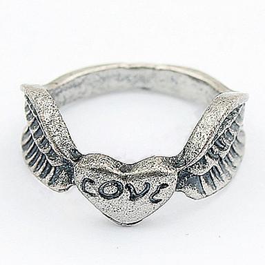 للرجال للمرأة خواتم حزام خاتم مجوهرات مخصص تصميم فريد ستايل الشعار تصميم الحيوانات كلاسيكي قديم بوهيميان أساسي قلب الصداقة أفريقيا مضاعف
