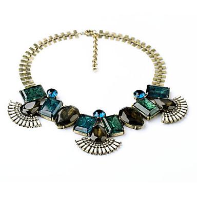 Damskie Pasemka Naszyjniki Geometric Shape Unikalny Słodkie Style Biżuteria Na Codzienny