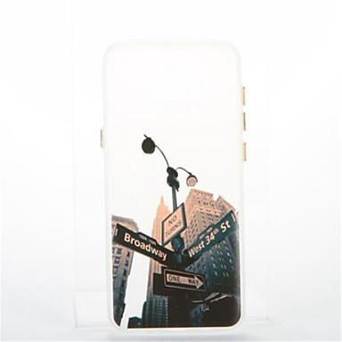 tok Για Samsung Galaxy S8 Plus S8 Επιμεταλλωμένη Λάμπει στο σκοτάδι Πίσω Κάλυμμα Θέα στην πόλη Μαλακή TPU για S8 S8 Plus