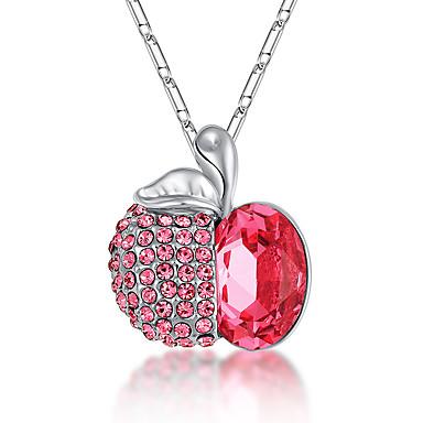 Damskie Naszyjniki z wisiorkami Kryształ Spersonalizowane Słodkie Style euroamerykańskiej Modny Godny podziwu Biżuteria Na Ślub Impreza