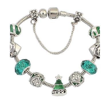 economico Bracciali-Per donna Bracciali a catena e maglie Di tendenza Gemme Gioielli braccialetto Verde Per Feste Occasioni speciali Regalo