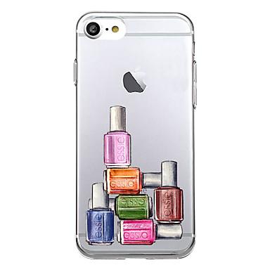 Etui Käyttötarkoitus Apple Ultraohut Kuvio Takakuori Tiili Pehmeä TPU varten iPhone 7 Plus iPhone 7 iPhone 6s Plus iPhone 6 Plus iPhone