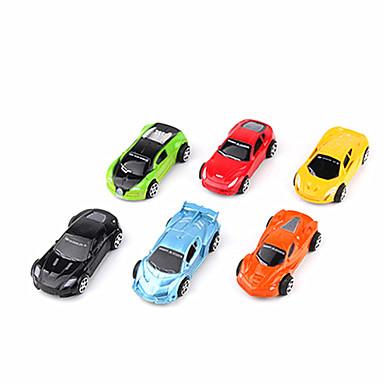 لعبة سيارات سيارات السحب سيارة الحفريات سيارة سباق ألعاب ألعاب بلاستيك 12 قطع للجنسين هدية