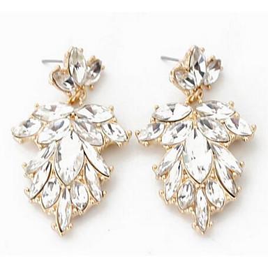 Kolczyki wiszące Multi-kamień Wiszący Modny euroamerykańskiej Kamień szlachetny Silver Biżuteria Na Ślub Impreza Specjalne okazje 1 para