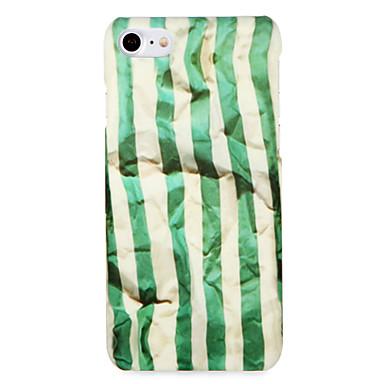 hoesje Voor Apple iPhone 7 Plus iPhone 7 Patroon Achterkant Lijnen / golven Hard PC voor iPhone 7 Plus iPhone 7 iPhone 6s Plus iPhone 6s