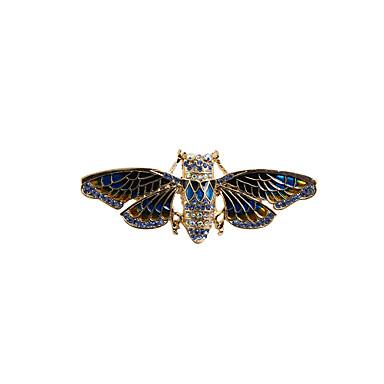 Γυναικεία Καρφίτσες Κοσμήματα Άνιμαλ Βίντατζ Euramerican Μοντέρνα Στρας Εμαγιέ Κράμα Ζώο Μπλε Κοσμήματα Για Γάμου Πάρτι Ειδική Περίσταση