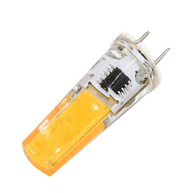 2W 180-200 lm G8 Becuri LED Bi-pin T 1 led-uri COB Intensitate Luminoasă Reglabilă Alb Cald AC 110-120V