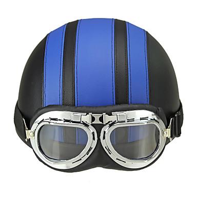 voordelige Motorhelmen-Halve helm Volwassenen Unisex Motorhelm UV-Bescherming / Zonbescherming / Ultra Licht(UL)