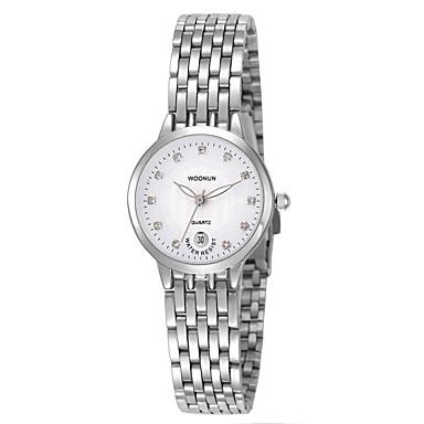 Kadın's Moda Saat Quartz Alaşım Bant Gümüş Altın Rengi