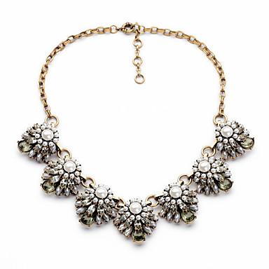 Γυναικεία Σκέλη Κολιέ Flower Shape Μοναδικό χαριτωμένο στυλ Λευκό Κοσμήματα Για Καθημερινά 1pc