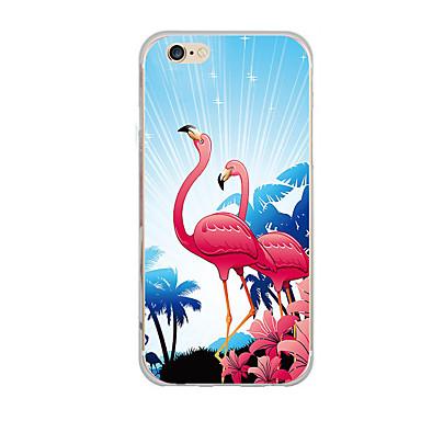 غطاء من أجل iPhone 7 iPhone 7 Plus iPhone 6s Plus أيفون 6بلس iPhone 6s ايفون 6 أيفون 5 Apple نحيف جداً نموذج غطاء خلفي البشروس طائر مائي
