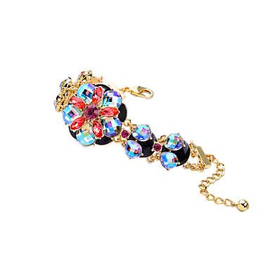 Dames Armbanden met ketting en sluiting Vriendschap Modieus Legering Bloemvorm Sieraden Voor 1 stuks