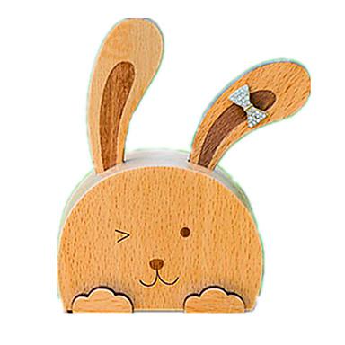 Spieluhr Spielzeuge Rabbit Holz Stücke Unisex Geschenk