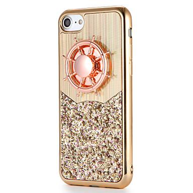 Für Apfel iphone 7 7plus Fallabdeckung fidget Spinner Muster diy rückseitige Abdeckungsfall glitter Glanz weich tpu 6s plus 6 plus 6s 6