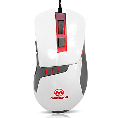 MORZZOR Cablu mouse-ul pentru jocuri Programabil DPI ajustabil iluminare din spate