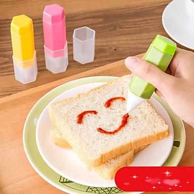 أدوات خبز بلاستيك صديقة للبيئة / اصنع بنفسك لساندويتش / تبرعم / لكاندي أداة تزيين