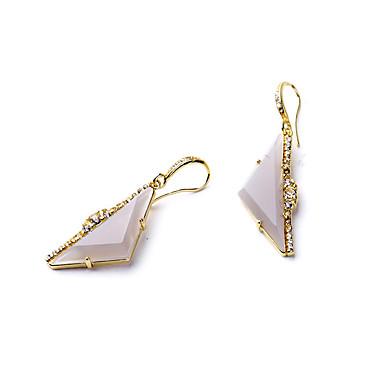 Κρίκοι Κρυστάλλινο Εξατομικευόμενο Euramerican Βρετανικό Χρυσό Κοσμήματα Για Γάμου Πάρτι Γενέθλια 1 ζευγάρι