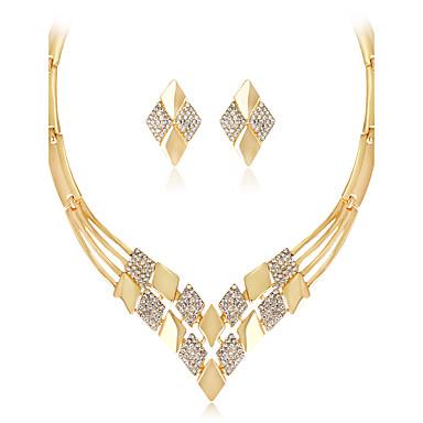 Pentru femei Seturi de bijuterii Lănțișor Modă Euramerican Nuntă Petrecere Ocazie specială Zi de Naștere Logodnă Zilnic Ștras Aliaj