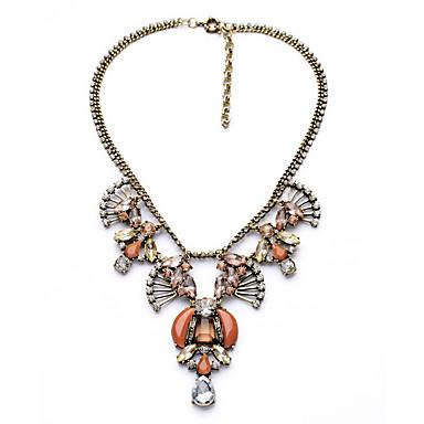 للمرأة فروع القلائد قطرة كروم مخصص ترف مجوهرات من أجل زفاف تهاني