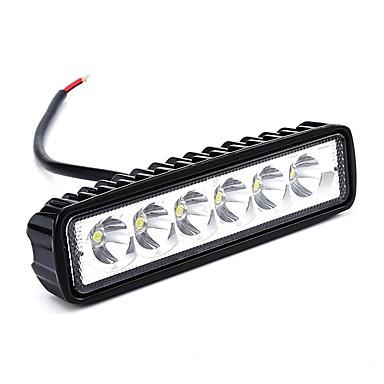 Недорогие Фары для мотоциклов-ZIQIAO 2pcs Автомобиль Лампы Светодиодная лампа Рабочее освещение