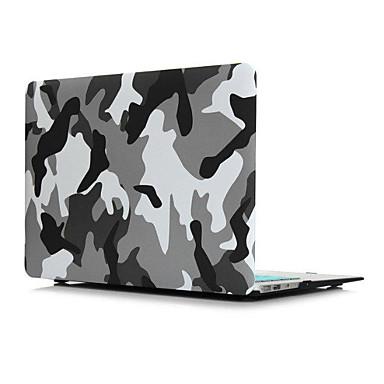 MacBook Futerał kamuflaż Skóra PU na Nowy MacBook Pro 15