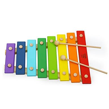 Cymbałki Zabawki Zabawa Kaczka Instrumenty muzyczne Drewniany Sztuk Dla dzieci Dla obu płci Prezent