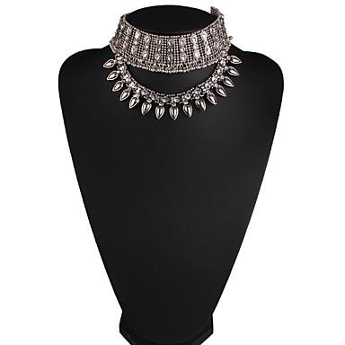 Damskie Naszyjniki choker Biżuteria Biżuteria Kamień szlachetny Stop Modny euroamerykańskiej Biżuteria Na Impreza