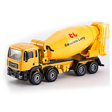 Koparka Betoniarka Pojazdy budowlane i ciężarówki do zabawy Samochodziki do zabawy 1:50 Metal Dla chłopców Dla dzieci Zabawki Prezent