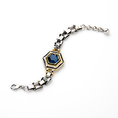 Γυναικεία Βραχιόλια με Αλυσίδα & Κούμπωμα Κοσμήματα Φιλία Μοντέρνα Κράμα Geometric Shape Κοσμήματα Για Γάμου