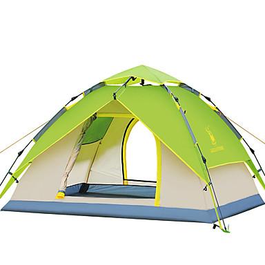 3-4 osób Namiot Dwukrotnie Namiot kempingowy One Room Automatyczny namiot Wodoodporny Wiatroodporna Ultraviolet Resistant Składany na