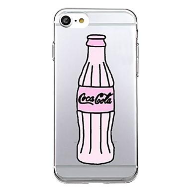 Etui Käyttötarkoitus Apple Ultraohut Kuvio Takakuori Sana / lause Pehmeä TPU varten iPhone 7 Plus iPhone 7 iPhone 6s Plus iPhone 6 Plus