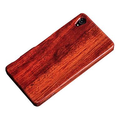غطاء من أجل Sony Xperia Z3 Sony ضد الصدمات غطاء خلفي خشب قاسي خشبي إلى Sony Xperia Z3 Sony