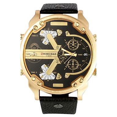 Męskie Dla mężczyzn Do sukni/garnituru Modny Zegarek na nadgarstek Zegarek na bransoletce Unikalne Kreatywne Watch Na codzień Sportowy
