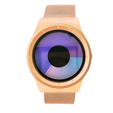 Heren Modieus horloge Digitaal horloge Chinees Kwarts Legering Band Goud Goud Rose
