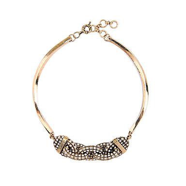 Kadın's Tellerinin Kolye Geometric Shape Kişiselleştirilmiş lüks mücevher Mücevher Uyumluluk Düğün