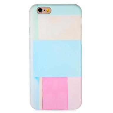hoesje Voor Apple iPhone 7 Plus iPhone 7 Patroon Achterkant Kleurgradatie Zacht TPU voor iPhone 7 Plus iPhone 7 iPhone 6s Plus iPhone 6s