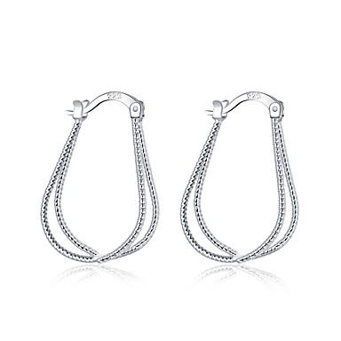 Dames Ring oorbellen Sieraden Gepersonaliseerde Meetkundig Uniek ontwerp Hangende stijl Klassiek Vintage Bohémien Standaard Natuur