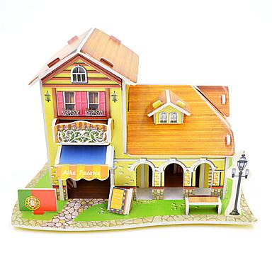 Puzzles 3D - Puzzle Bausteine Spielzeug zum Selbermachen Architektur Papier Model & Building Toy