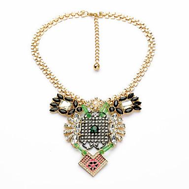 Kadın's Zincir Kolyeler Kristal Çok güzel Kişiselleştirilmiş sevimli Stil Euramerican Gökküşağı Mücevher Için Düğün Parti 1pc