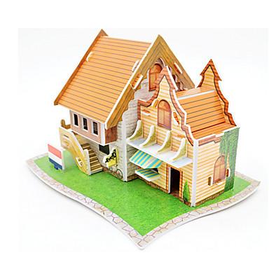 3D-puzzels Legpuzzel Steekpuzzels Modelbouwsets 3D Plezier Hout Klassiek