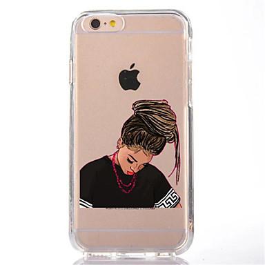 Voor iphone 7 sexy dame tpu zachte ultra dunne achterhoes hoesje voor apple iphone 7 plus 6s 6 plus se 5s 5 5c 4s 4