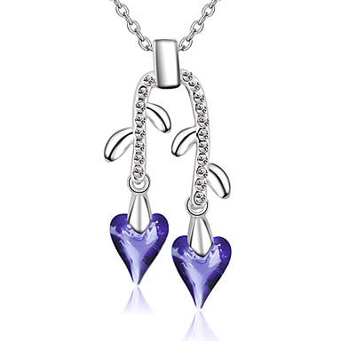 Damskie Naszyjniki z wisiorkami Kryształ Spersonalizowane Modny euroamerykańskiej minimalistyczny styl Biżuteria Na Ślub Impreza