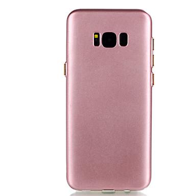 Maska Pentru Samsung Galaxy S8 Plus S8 Placare Capac Spate Culoare solidă Moale TPU pentru S8 Plus S8 S7 edge S7