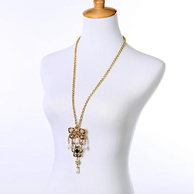 Γυναικεία Κρεμαστά Κολιέ Geometric Shape Φιλία χαριτωμένο στυλ Χρυσό Κοσμήματα Για 1pc
