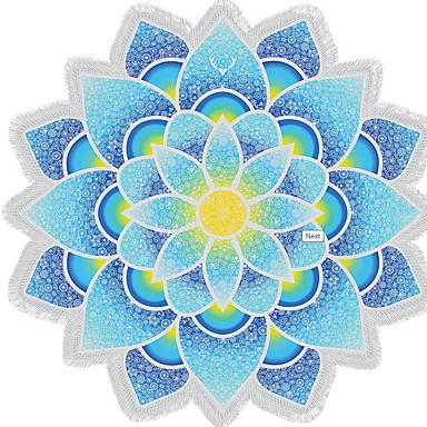 Taze Stil Kumsal Havlusu, Duyarlı Baskı Üstün kalite %100 Polyester Havlu Kumsal Havlusu Havlu