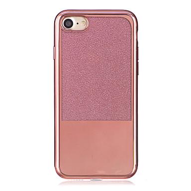 Varten Pinnoitus Läpinäkyvä Etui Takakuori Etui Yksivärinen Pehmeä TPU varten AppleiPhone 7 Plus iPhone 7 iPhone 6s Plus iPhone 6 Plus