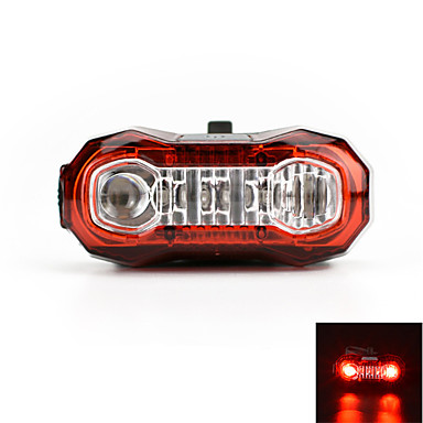 Tail Lights LED LED Bisiklet Şarj Edilebilir Süper Hafif Uyarı USB Lümen USB Kırmızı Bisiklete biniciliği Dış Mekan